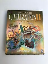 """Civilization II: Multiplayer Gold Edition """"Vintage"""" PC Strategy Game - Complete!"""