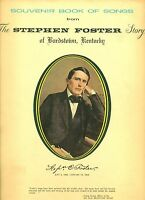 Souvenir Book of Songs from The Stephen Foster Story