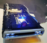 New LED Light Kit for lego Dom's Dodge Charger 42111 USB Power