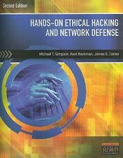 Hands-On Ethical Hacking and Network Defense, by Simpson, 2nd Edition