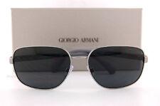 Brand New GIORGIO ARMANI Sunglasses AR 6029 3003/87 Matte Gunmetal/Grey   Men