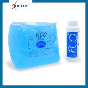 ECO Gel per ecografie ultrasuoni diagnostica blu sacca morbida 5 Kg - ecografia