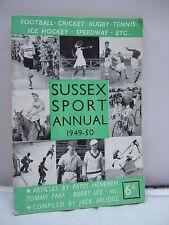 Sussex Sport Annual 1949 -50 - Illustrated  - Jack Arlidge