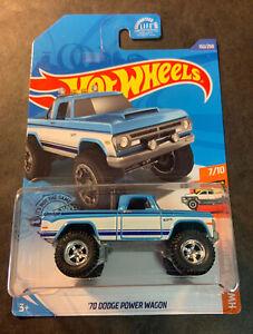 Hot Wheels CUSTOM '70 Dodge Power Wagon with Real Riders