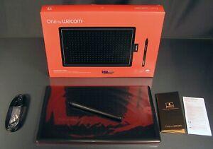 One by Wacom Grafiktablett CTL-672-N Größe M (27x18 cm) Stifttablett OVP NEU