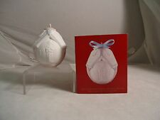 Lladro, 1998 Christmas Ball Ornament, #16561, Retired, New, Mint In Box