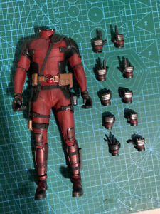 Hot Toys 1/6 Deadpool 2.0 Action Figure Body Outfits HT MMS490 Collectible 12in.