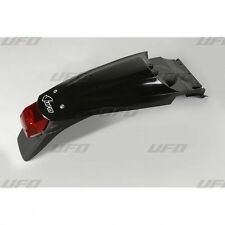 UFO KTM Supermoto Rear Fender with Tail Stop Light 640 LC4 2004 - 2007 Black