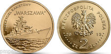 "Poland 2013 2 zlotych ""Polish Ships – Warszawa Guided-missile Destroyer"" UNC"