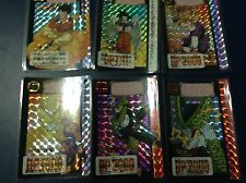 DRAGON BALL Z CARDDASS PART 15 FULL SET 6 PRISMS CARDS SET