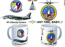 VF-2 Bounty Hunters F-14 Tomcat mug.