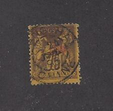 """FRENCH OFFICES IN CHINA - 10 - USED - TYPE II - 1894 - """" SHANGHAI"""" CANCEL"""