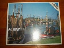 "Vintage Whitman ""Port East Friesland Holland"" 1000 Piece Jigsaw Puzzle No. 4777"