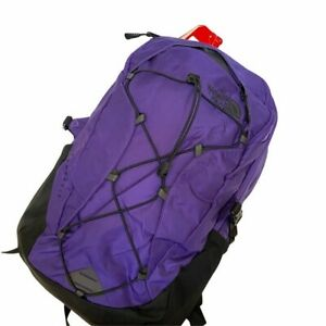 The North Face Classic Borealis Backpack Peak Purple Ripstop/ TNF Blk 28 Liters