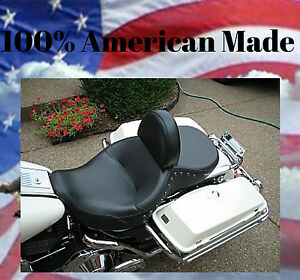 MADE IN USA Harley Drivers Backrest Freewheeler Quick Release