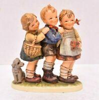 Goebel Hummel Collectible Figure 369 FOLLOW THE LEADER TMK5 Kids Playing REPAIR