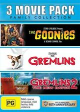 The Goonies / Gremlins / Gremlins 2 - New Batch (DVD, 2013, 3-Disc Set)