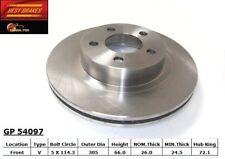 Disc Brake Rotor-4WD Front Best Brake GP54097