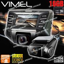 Twin Camera Dual Dashcam In Car Cam B70S Plus NTK 96655 Crashcam Blackbox 1080P