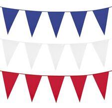 Guirlande de fanions bleu blanc rouge foot france drapeaux 14 juillet tricolore