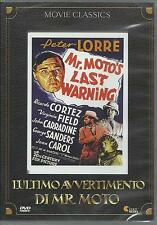 L'ultimo avvertimento di mr. Moto (1939) DVD
