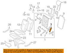 MERCEDES OEM 13-16 GL350 Third Row Seat-Drive Unit Right 1649300648