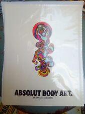 Absolut Body Art Tattoo Jean-Lue Moerman Only one on Ebay RARE!!!