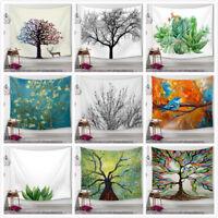 Tree Of Life Tapestry Wall Hanging Sandy Beach Throw Rug Blanket Sleeping Pad