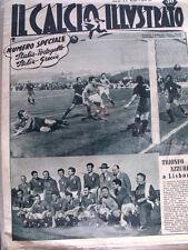 IL Calcio Illustrato 12/04/1951 Numero speciale Italia Portogallo & Grecia[GS35]