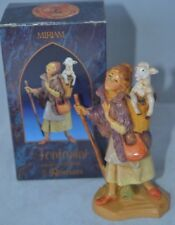 "Vintage Fontanini Italy Box Nativity Miriam Figure 5"" Scale"