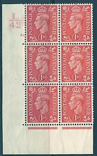 1D RED CILINDRO controllo L 42 78 NO DOT Unmounted MINT