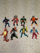 Vintage he-man Merman Snout Spout Stinkor King Hiss and more