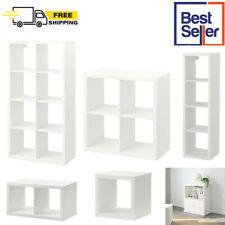 IKEA KALLAX Display Shelving Unit Bookcase Drawer Rack Room Divider Cube White