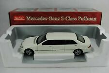 "1:18 Sunstar #4112 MERCEDES BENZ S-Class Pullman "" White - RAR"