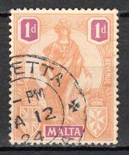 Malta - 1922 Definitive Melita - Mi. 84 VFU