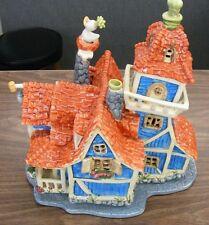 Disney Goofy's House by Heather Goldminc - Clay/Ceramic T. Lite House - RARE