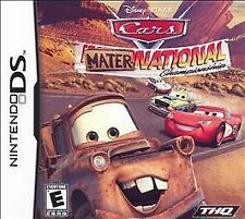 Nintendo DS/Lite/DSi Game CARS MATER NATIONAL CHAMPIONSHIP
