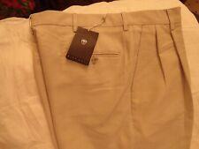 NIKE GOLF Men's Pleated Golf/ Casual Pants Light Beige Size- 34 x 32 Brand New