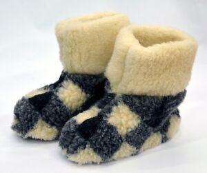 SALE!! Woollen Slippers, WOMEN'S, MEN'S, boots, mules  WOOL GOOD GIFT!!! GORALKI