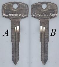 Replacement Key Blank For 1981 1982 1983 Datsun 300Zx 280Zx and Other Car Models