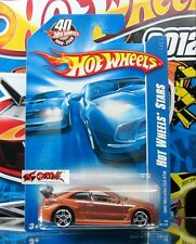 Hot Wheels 2008 #098 AMG-Mercedes CLK DTM COPPER,PR5,'08 CARD,40TH LOGO,A31
