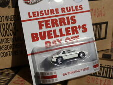 Hotwheels  RETRO ENTERTAINMENT  Ferris Bueller's Day Off 84' Pontiac Fiero