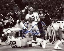 1985 Lynn Dickey Packers signed photo 8x10 Monday Night Football vs Bears AUTO