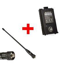"BAOFENG BL-5 1800mAh 7.4V Li-Ion Battery + 1 pcs 7.5"" Dual-Band 144/430 Antenna"