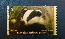BRD 55cent  DACHS  Mi.2767 gestempelt Tier des Jahres 2010 Briefmarke
