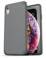 iPhone XR Case / Cover Ultra Slim Protective Thin Grip Phone Cover (Nova) Grey