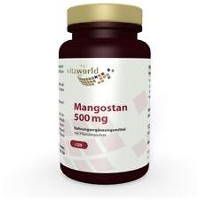 Mangostano 500mg 120 Capsule Vita World Produzione in farmacia in Germania