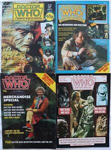 Vintage Magazine - Doctor Who Monthly Magazine - Winter & Summer Specials x5