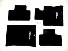 NEW HYUNDAI GENESIS COUPE BLACK FLOOR MAT MATS SET FRONT REAR 13 14 15 16 OEM