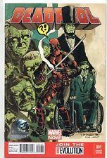 DEADPOOL # 1 Phantom Variant Cover Swipe New Mutants 98